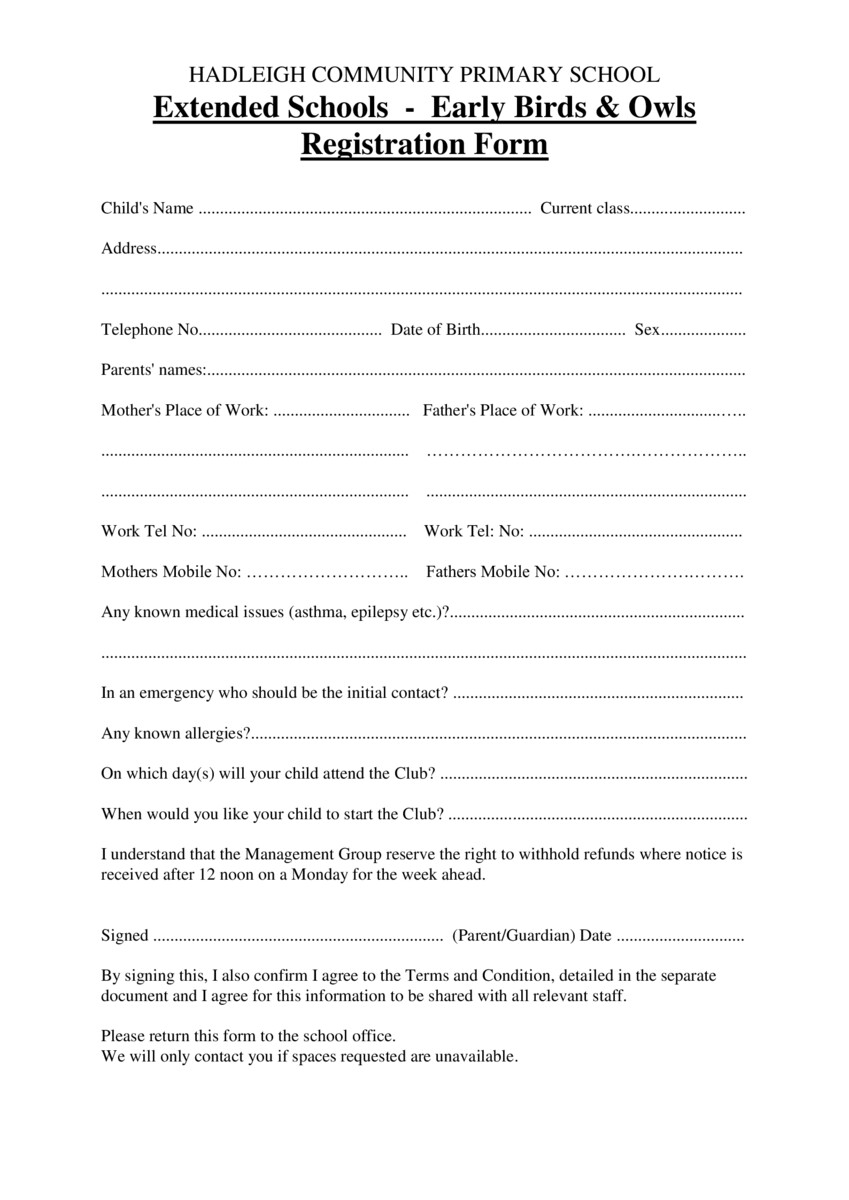 thumbnail of DOC-Early-Birds-Club-Registration-Form