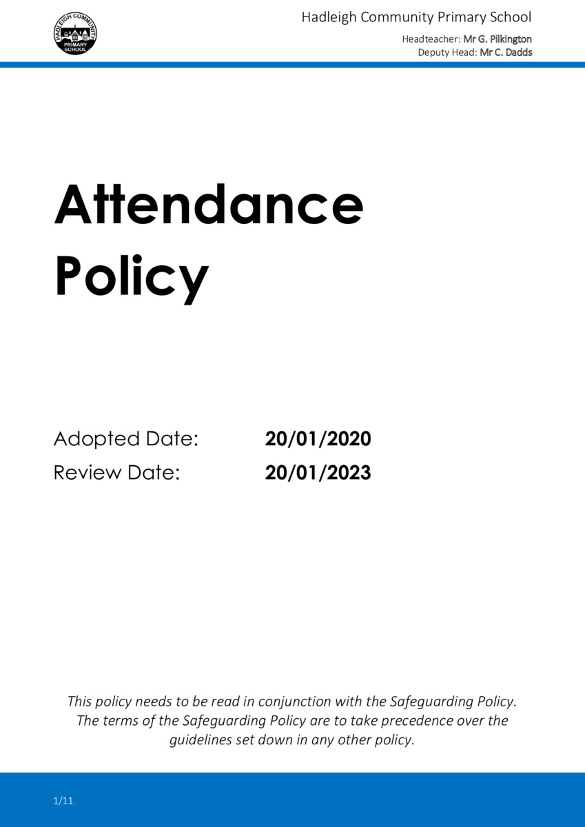 thumbnail of POLICY-2020-01-Attendance