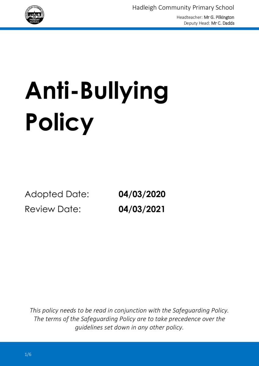 thumbnail of POLICY-2020-03-Anti-Bullying