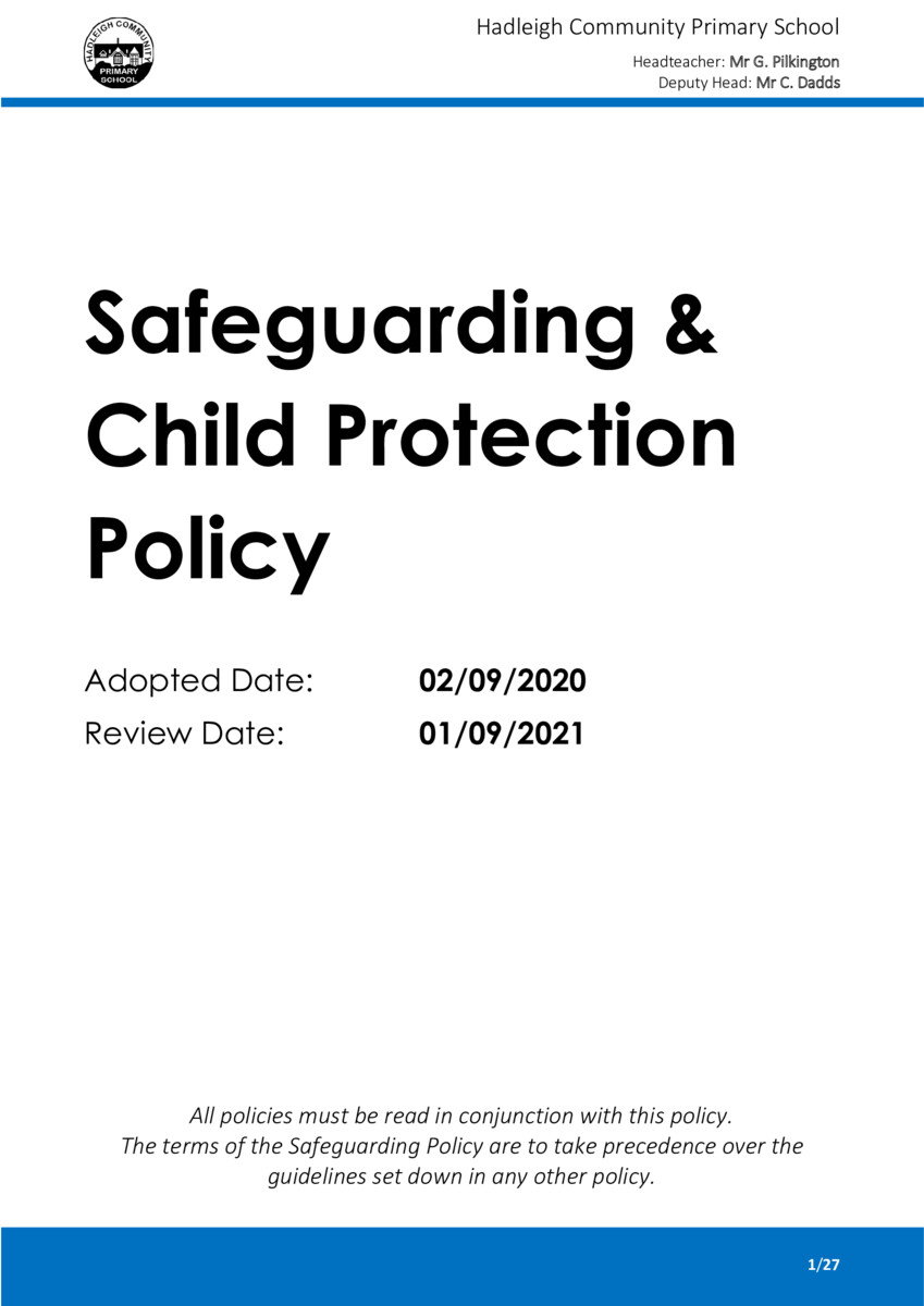 thumbnail of DOC-Safeguarding Policy 2020 APPROVED