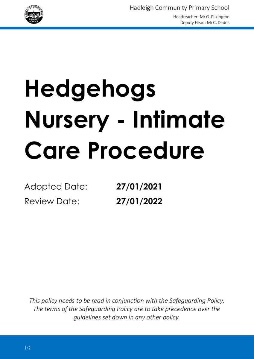 thumbnail of DOC-2021-22-Hedgehogs-Nursery-Intimate-Care-Procedure