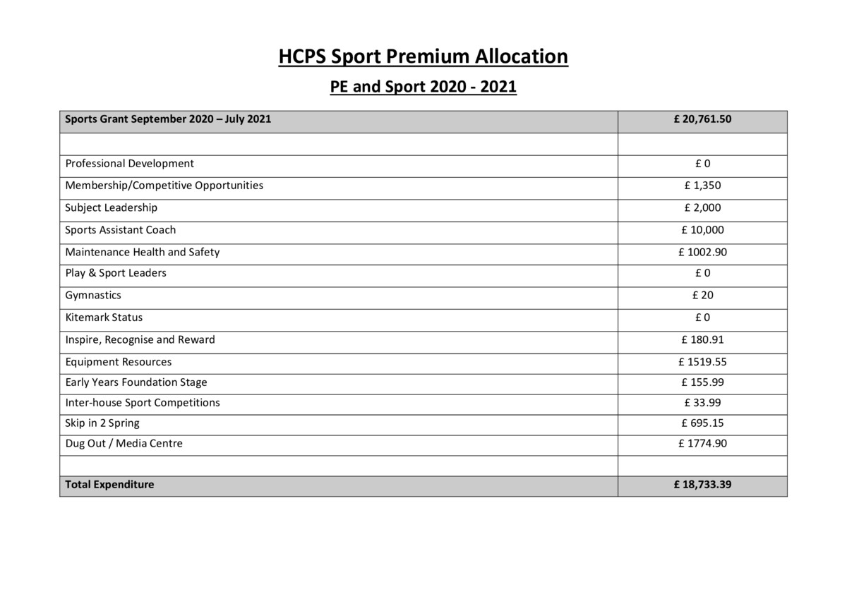 thumbnail of PE & School Sport Action Plan and Impacts (2020-21)